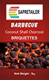 #4: SAPRETAILER Coconut Shell Charcoal Briquettes (5kg) for Barbecue