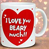 Archies Love You Beary Much 1 Valentine Mug best price on Amazon @ Rs. 249