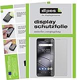 dipos I 2X Schutzfolie matt passend für Gigaset GS100 Folie Bildschirmschutzfolie