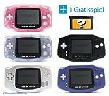 GameBoy Advance Konsole (Farbe nach Wahl) + GRATIS SPIEL -
