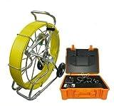 MabelStar mabelstar schwer Pflicht Schubstange Wasserdicht Ablauf Kanalisation Tube Inspektionskamera mit 40mm 512Hz Sonde Kamera und Meter Zähler Funktion