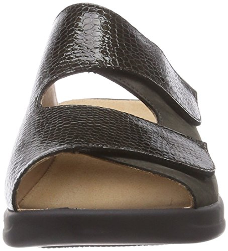 Ganter MONICA, Weite G, Chaussures de Claquettes femme Multicolore - Mehrfarbig (schlamm / fango 5456)