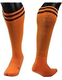 Lian estilo unisex 1par de rodilla calcetines de deporte rayas Talla XS/S/M