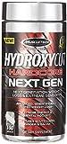 MuscleTech Hydroxycut Hardcore Next Gen, Fatburner, Wissenschaftlich Getestet zum Abnehmen und mehr Energie, Weight Loss Supplement, 100 Kapseln, 1.5 g