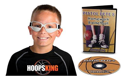Pistole Pete Maravich Dribbeln DVD & Dribble Brillen-DVD & Training Hilfe-Sie haben alle Bohrmaschinen die Sie benötigen eine große Schleimer, wie Pete Maravich-Learn Fun und Cool Bohrmaschinen -