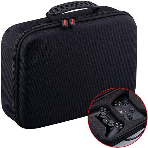 serdicht Universal Reise Hartschalenkoffer Tragen Taschen Case Cover für Dual Jede Normale Größe Controller z. PS4 Xbox One, Swith Pro usw. ()