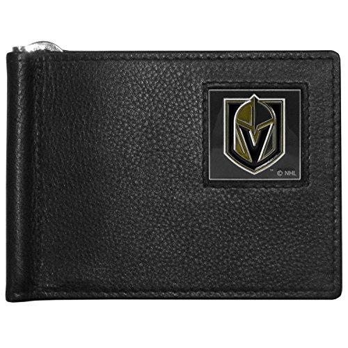Siskiyou NHL Vegas Golden Knights Herren Leder Bill Clip Wallet, Falttür -