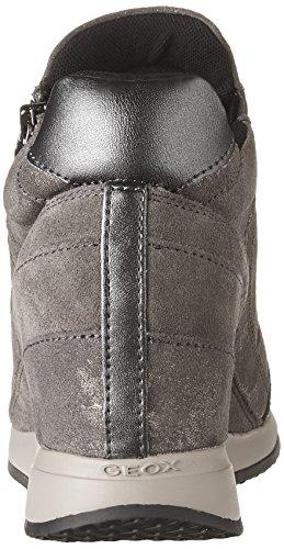 Geox sneaker Nydame d620qa dark grigio Beige-Marrone