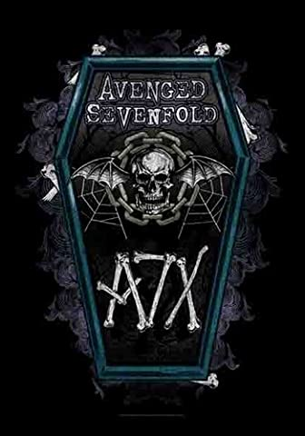 Avenged Sevenfold hail to the king Coffin Official Textile Poster 75cm x 110cm