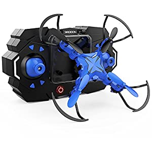 DROCON Scouter Foldable Mini RC Drone for kids Quadcopte with Altitude Hold 3D Flips and Headless Mode Easy Fly for Beginners by DROCON