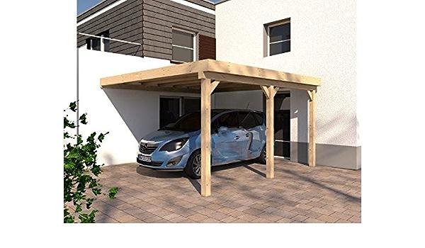 Nowhere Carport Party Tent Garage Carport Lean Rhon V 400x500 Cm Kvh Basic Solid Wood Kit Nowhere Carport Lean Amazon De Garden