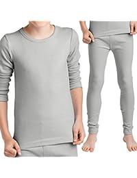 Original MT® Thermo Unterwäsche Set (Hemd + Hose) für Mädchen und Jungen - warm, weich und atmungsaktiv - 3 Farben zur Auswahl - von celodoro
