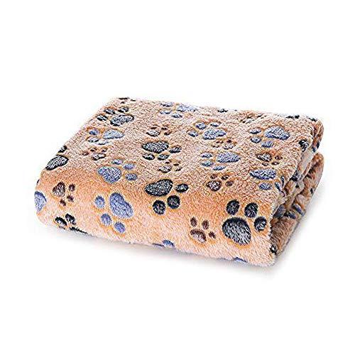 Allisandro Super Softe und Warme Hundedecke Fleece-Decke/Tier Schlafdecke