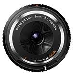 Olympus BCL-0980 - Objetivo para micro cuatro tercios (diámetro de filtro 56 mm), color negro