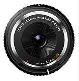 OLYMPUS Body Cap Lens  Obiettivo 9 Mm 1:8.0, Fisheye, Ultrasottile, Micro Quattro Terzi, per Fotocamere OM-D e PEN, Nero - Olympus - amazon.it