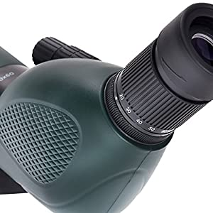 Praktica 20-60 x 60mm FMC Highlander Angled Spotting Scope with Tripod - Green