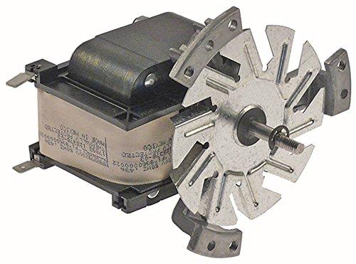 Lüftermotor ohne Lüfterrad 230V 0,43A L1 80mm L2 10mm L3 10mm L4 87mm
