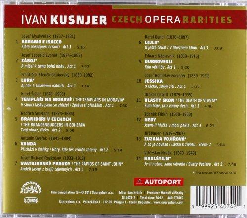 Ivan Kusnjer, Baryton : Raretés de l'Opéra Tchèque