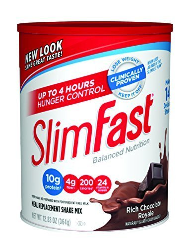slimfast-powder-shake-mix-rich-chocolate-royale-1283-oz-by-slimfast