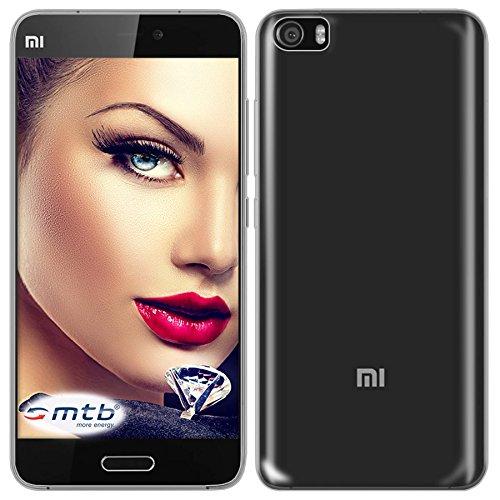mtb more energy® Schutz-Hülle Clear & Slim für Xiaomi Mi 5 / Mi5 Pro (5.15'')   transparent   flexibel   TPU Silikon Case Cover Tasche