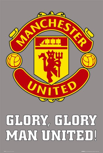 enorme-laminato-incapsulati-manchester-utd-club-crest-poster-misura-914-x-61-cm-915-x-61-cm