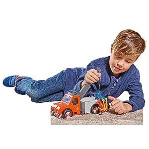 Simba 109258280 De plástico vehículo de Juguete - Vehículos de Juguete (De plástico, Gris, Rojo, Grúa, Fireman Sam, 3 año(s), 10 año(s))