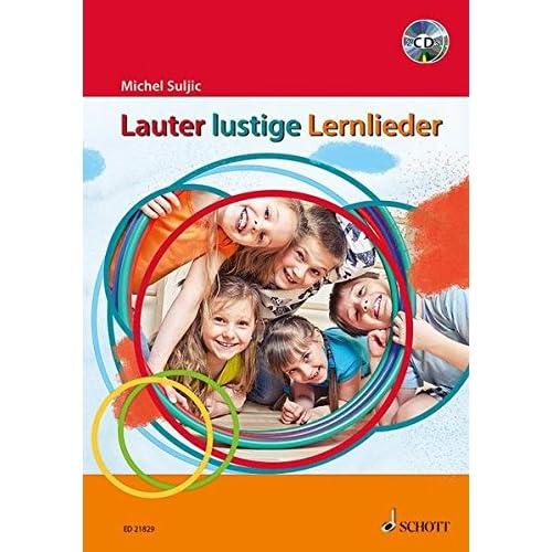 Lauter Lustige Lernlieder  +CD