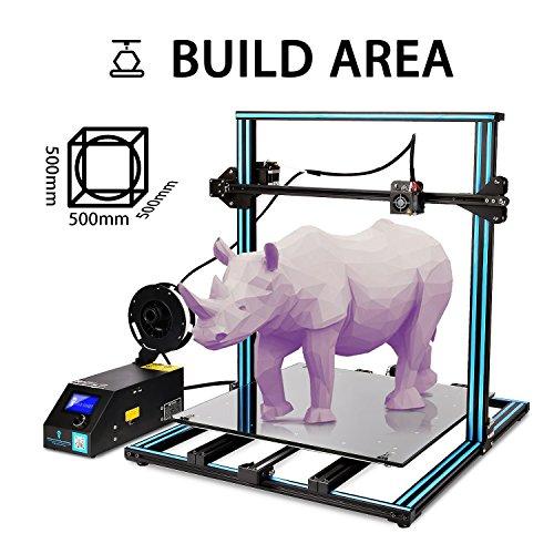 """SainSmart x Creality 3D-Drucker """"CR-10 Plus"""" vormontiert, hohe Präzision mit beheiztem Druckbett, große Druckgröße 500x500x500mm - 3"""