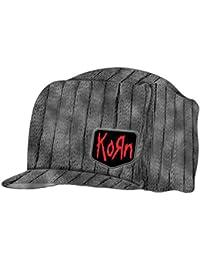 Korn,Grey Logo With Bill, Strickmütze