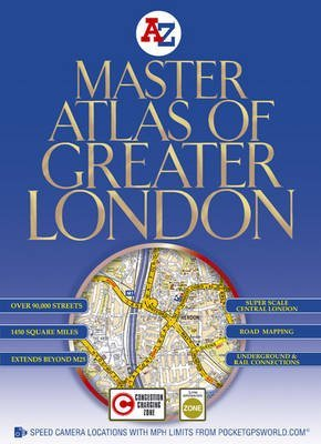 [(Master Atlas of Greater London)] [By (author) Geographers' A-z Map Company ] published on (November, 2008) (London A-z Map)
