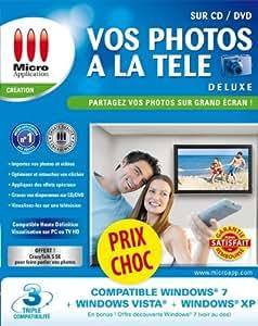 Vos Photos à la TV sur CD/DVD Deluxe