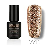 A : Mumustar UV Gel Nail Polish Holographic Holo Rainbow Sequins Star Effect