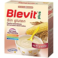 Blevit Plus, Cereales para bebé (Sin gluten) - 2 de 300 gr. (Total 600 gr.)