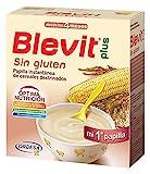 Blevit Plus Sin Gluten Cereales - Paquete de 2 x 300 gr - Total: 600 gr