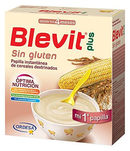 Papilla de maíz y arroz enriquecida BLEVIT (600 gr)