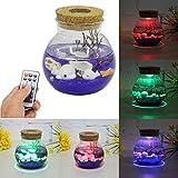 Jeteven Mini Sea leuchte Stimmungs-Lampe LED Nachtlicht Deko-Licht,Kinder Nachtlampe 7 Farbe Stimmung licht