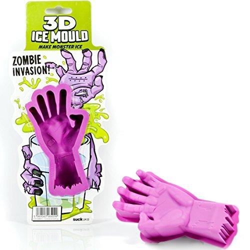 SUCK UK 3D Zombie-Hand Eis-Gussform Fach Für Gefriertruhe