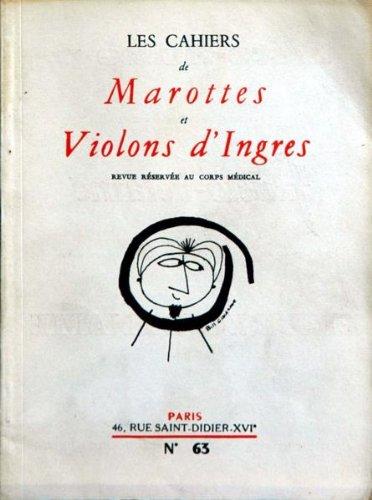 CAHIERS DE MAROTTES ET VIOLONS D'INGRES (LES) [No 63] du 31/12/2099 - BRIDGE PAR J. OLSEN - ART MODERNE - JEAN ARP PAR C. GIEDION-WELKER - LA MORT DE NAPOLEON - P. GANIERE - DT TIXIER - CIRQUE IMMORTEL - DR JACOB. par Collectif