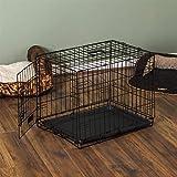 Home Discount Cage en métal Pliante pour Chien Chiot Animal de Compagnie pour Le...