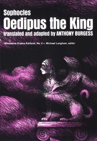 Oedipus The King (Minnesota Drama Editions)
