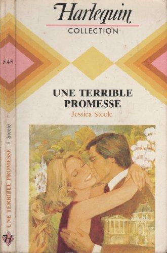 Une Terrible Promesse par  Jessica Steele (Broché)