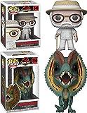 Funko POP! Jurassic Park: John Hammond + Dilophosaurus - Vinyl Figure Set NEW