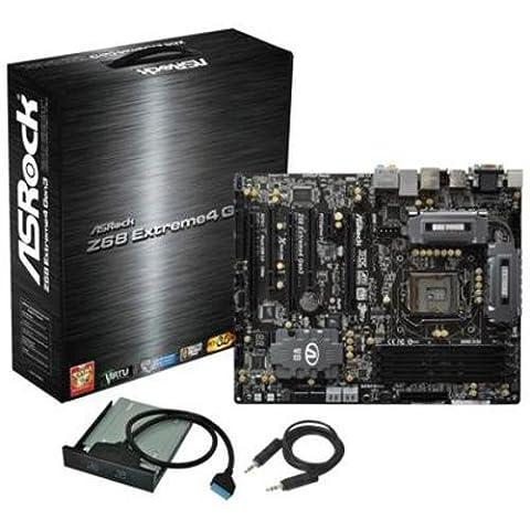 Asrock Z68 Extreme4 Gen3 Sockel 1155 Mainboard (Intel Z68, DDR3 Speicher, USB 3.0)