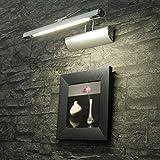 Moderne Bilderleuchte chrom JS1/1/129 Bilderbeleuchtung Lampe Leuchte
