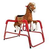 Rockin' Rider Lucky Talking Plush Spring Horse by Rockin' Rider
