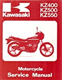 Kawasaki Motorcycle Service Manual : : KZ400 : KZ500 : KZ550 : (Part Number 99924-1018-04 :)