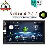 2 GB di RAM 32 G ROM Android 6.0 6.2 inch lettore multimediale di navigazione stereo per universale Quad Core Android matrimoniale 2 DIN autoradio lettore DVD/CD unità di testa non comprende camera