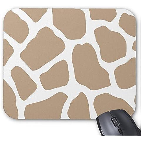 Giraffe Print - Khaki and White Animal