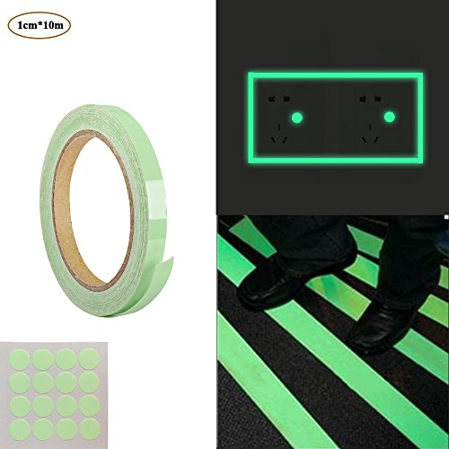 10m roll of luminous tape