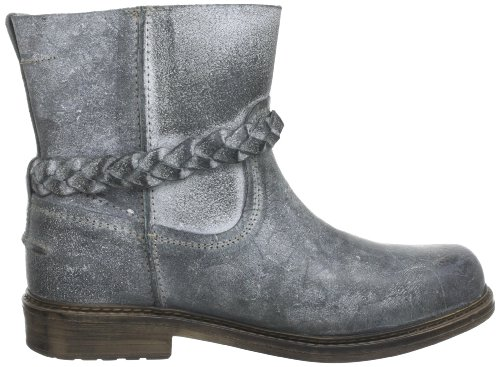 Yellow Cab HOOKED W Y26037 Damen Biker Boots Grau (Antracite)